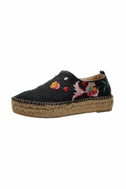 Eric Michael Serena Embroidered Sneaker - Front cropped