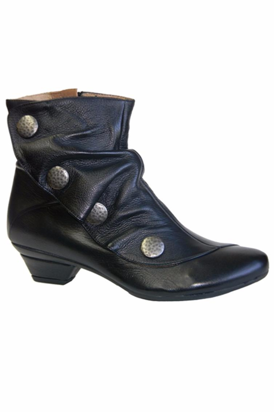 Eric Michael Seville Sleek Slouch-Bootie - Front Full Image