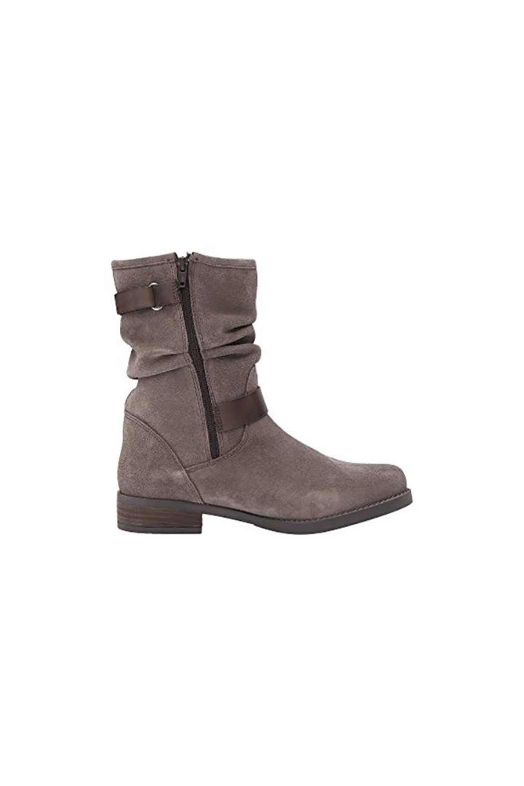 Eric Michael Venice Suede Slouch-Boot - Side Cropped Image