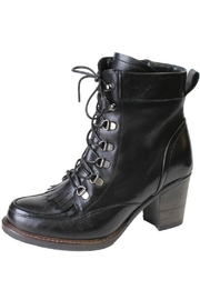 Eric Michael Waterproof Moto-Inspired Boot - Front cropped