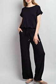 12pm by Mon Ami Erica Cap-Sleeve Jumpsuit - Product Mini Image