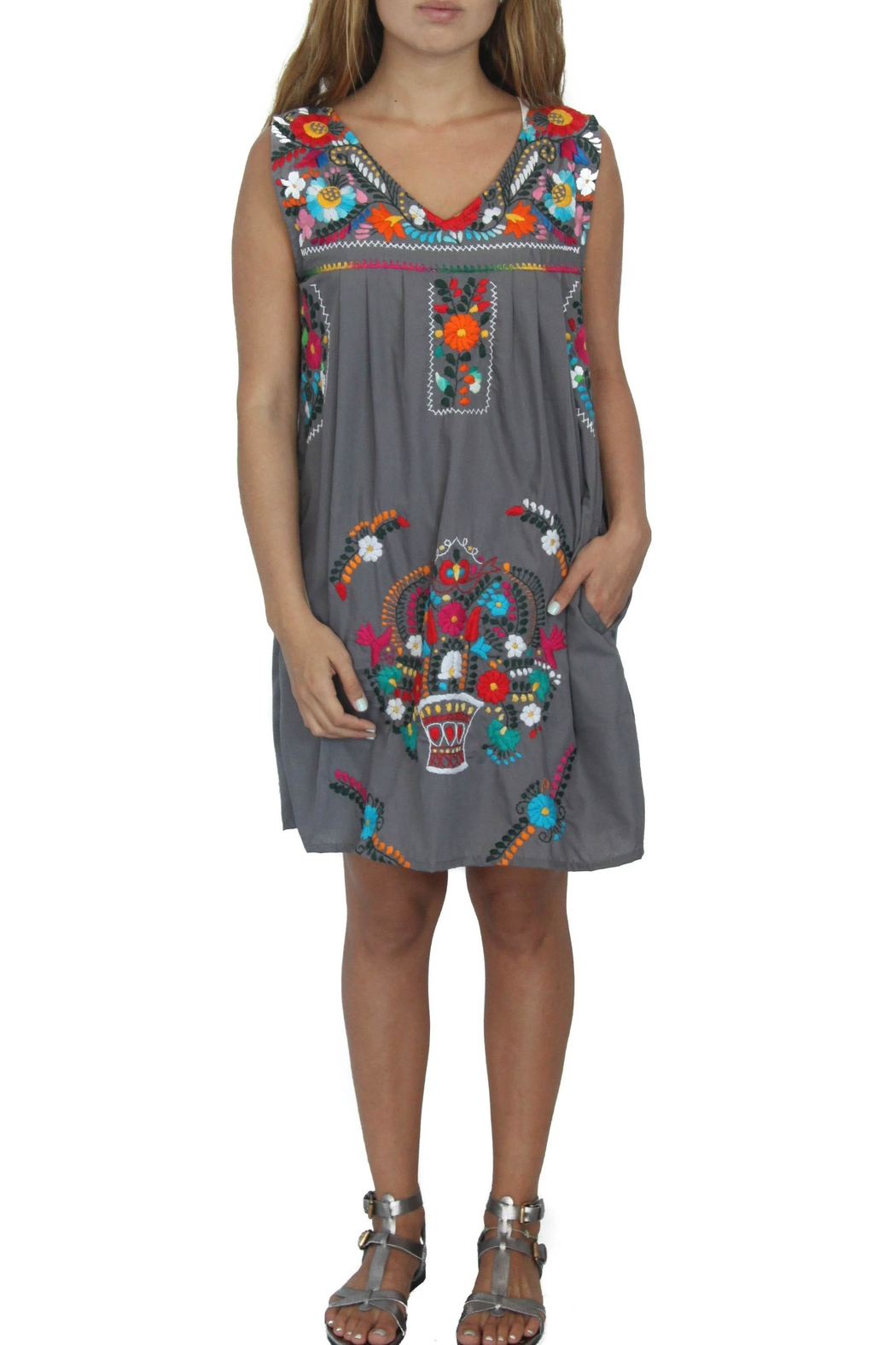 Erica Maree Chelow Shift Dress - Front Cropped Image