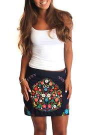Erica Maree Lia Mini Skirt - Product Mini Image