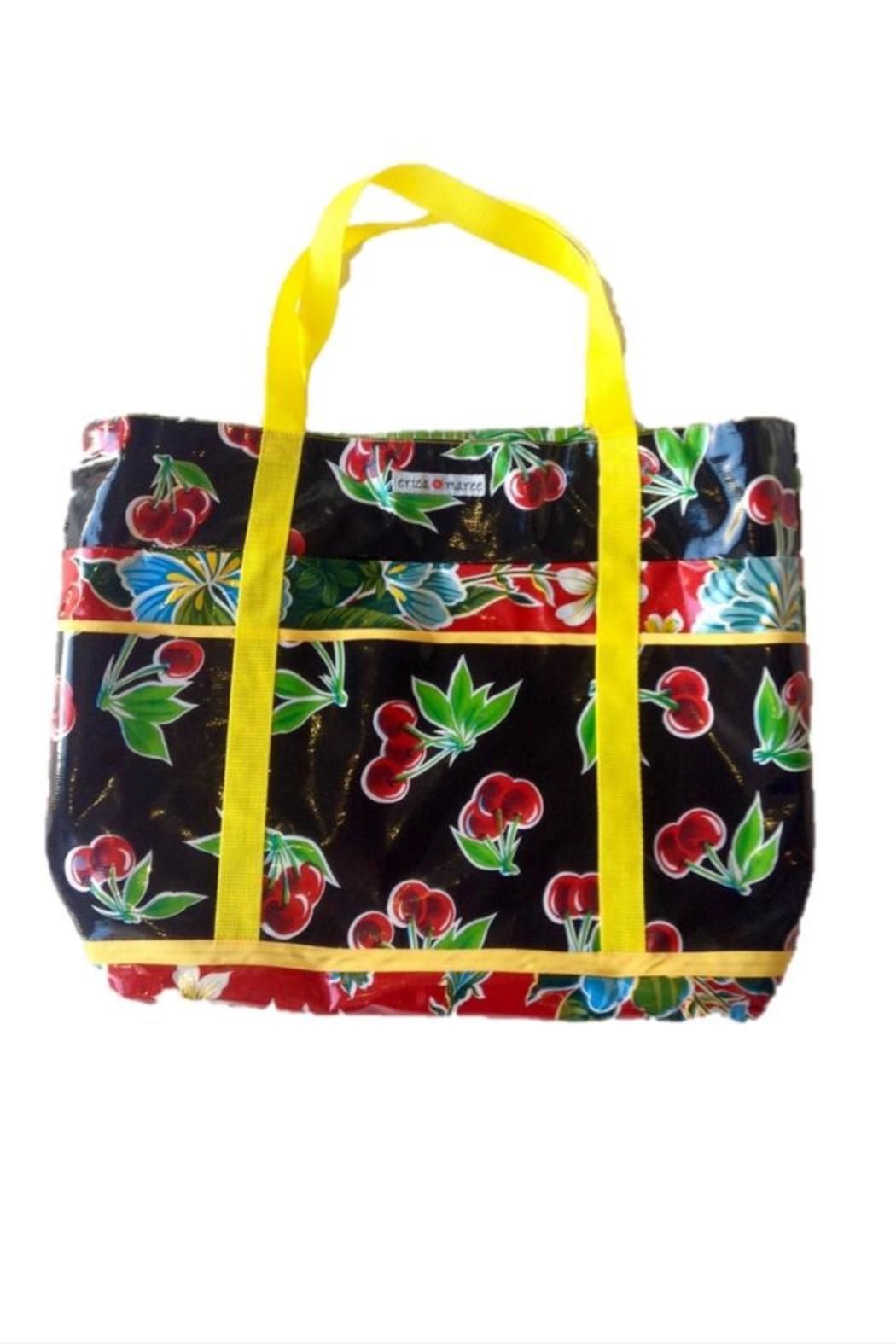 Erica Maree Large Beach Bag Front Full Image