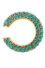Erica Nikol Pave Ear Cuff - Front cropped