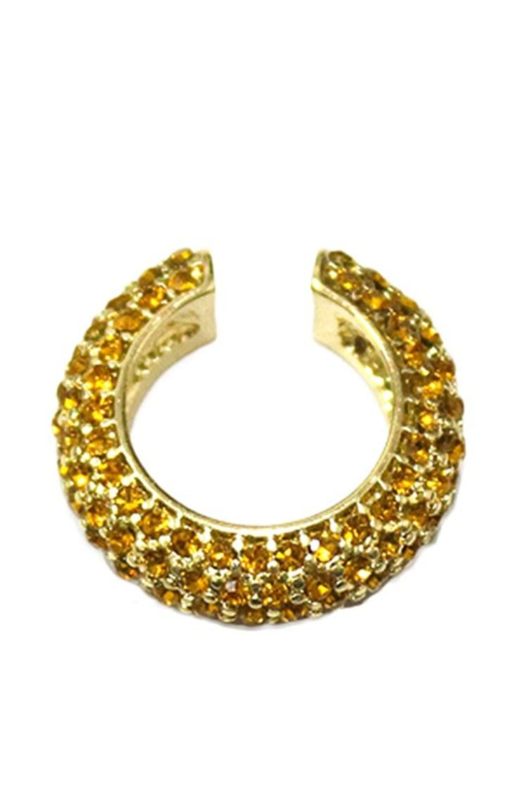 Erica Nikol Pave Ear Cuff - Front Cropped Image