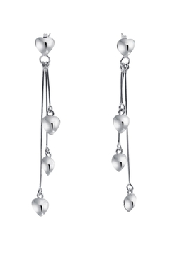 Erick Diaz Pendulum Hearts Earrings - Product List Image