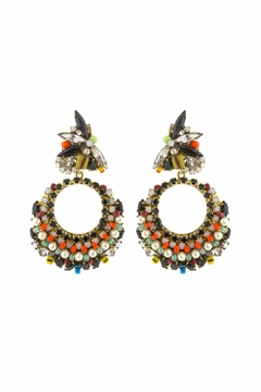 Shoptiques Product: Pearl Safari Earrings