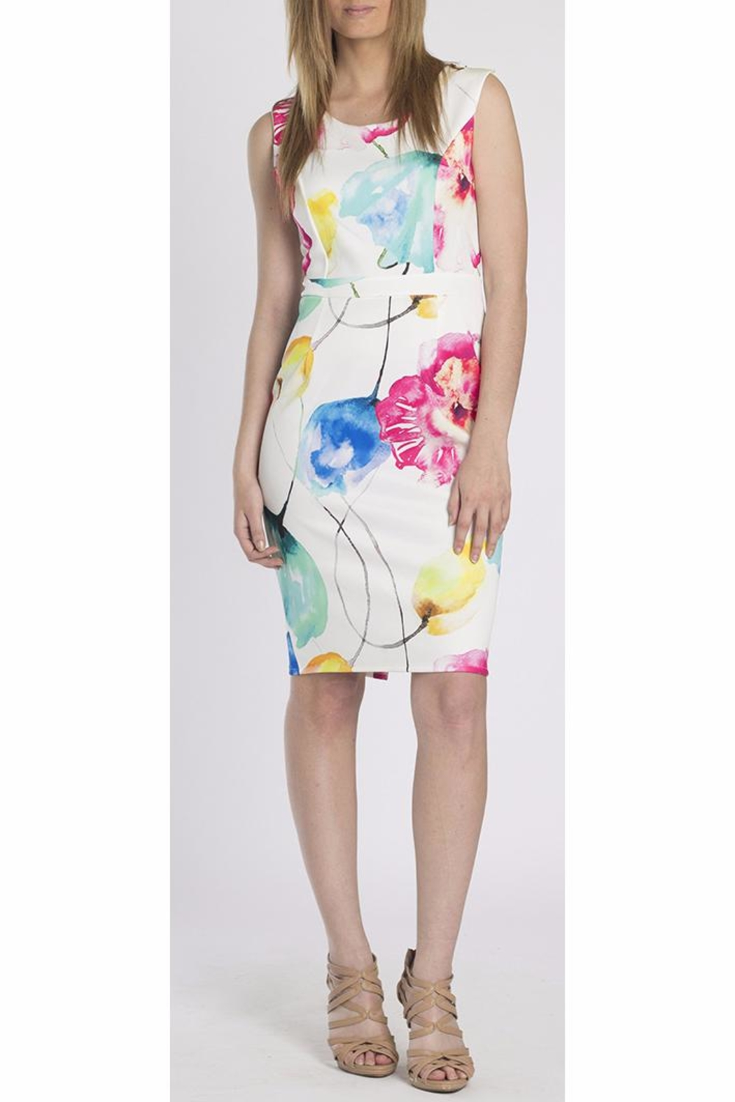 Erika Lang Gaby Floral Dress - Main Image