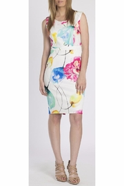 Erika Lang Gaby Floral Dress - Front cropped