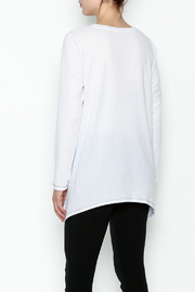 Erin London Cool White Top - Back cropped