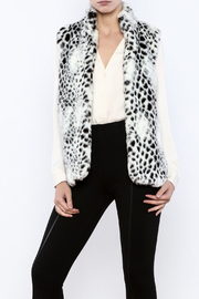 Erin London Faux Fur Vest - Product Mini Image