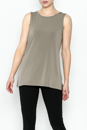 Erin London Long Olive tank - Product Mini Image