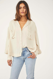 Free People  Erin's Button Down - Product Mini Image