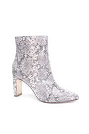 Chinese Laundry Erin Snake Bootie - Front full body
