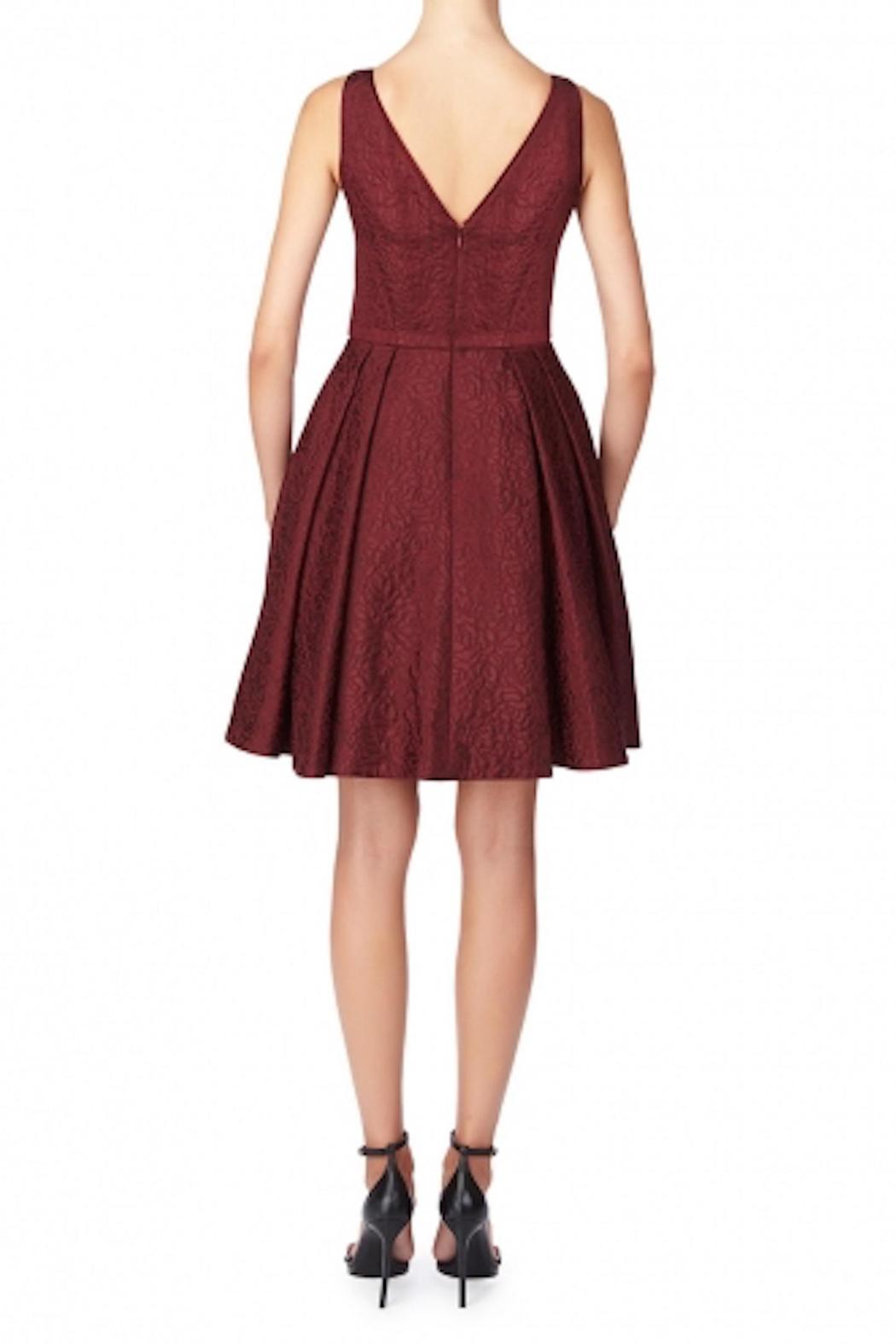 Erin Fetherston Coco Crimson Dress - Side Cropped Image