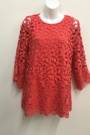Erin London Coral Lace Tunic - Product Mini Image