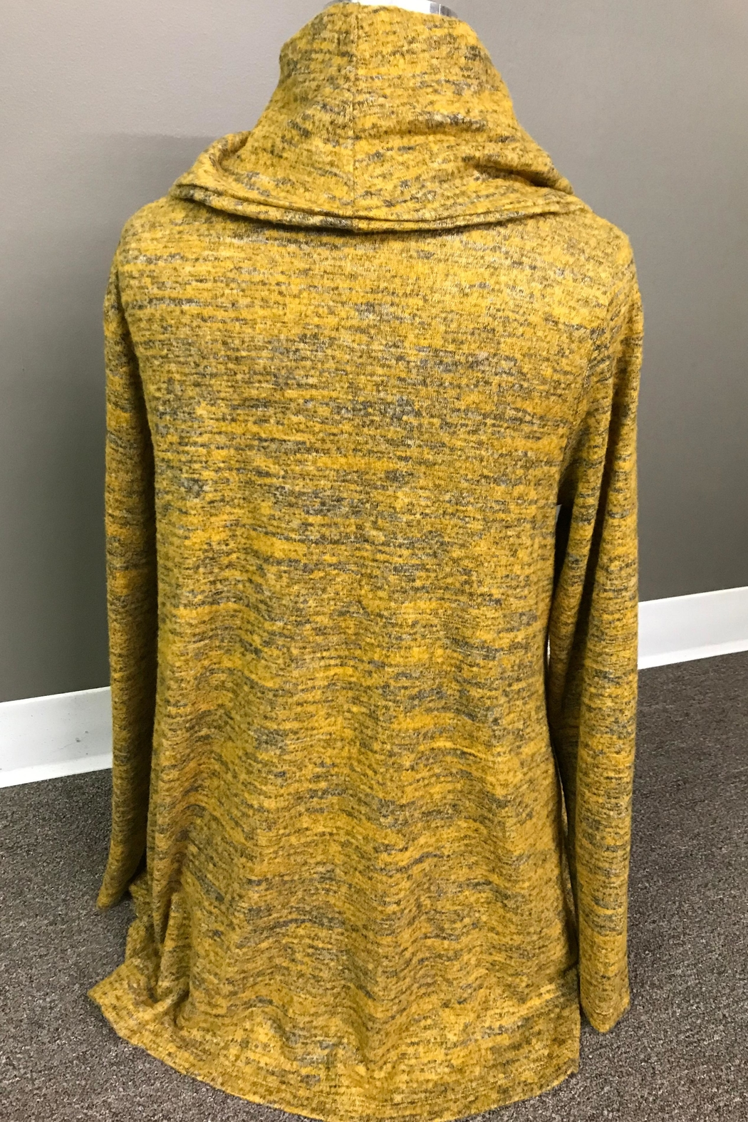 Erin London Heathered Cowl Tunic - Front Full Image