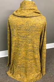 Erin London Heathered Cowl Tunic - Front full body