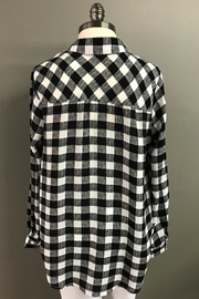 Erin London Mad For Plaid Shirt - Side cropped