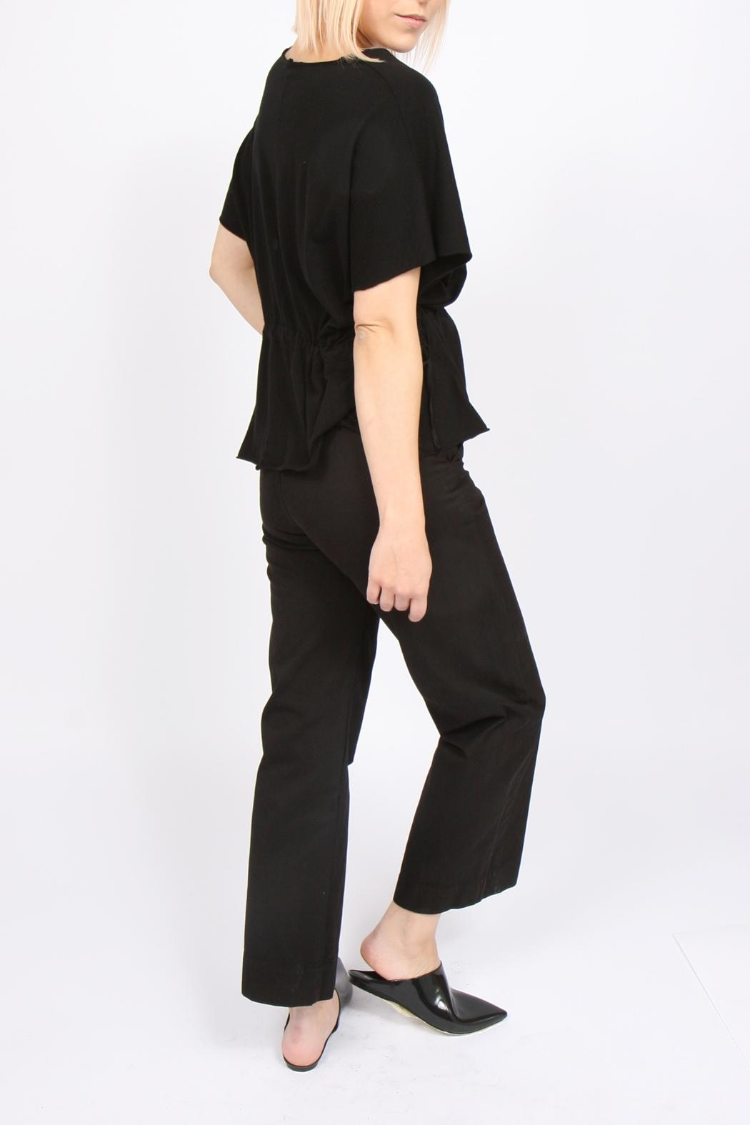 Errant Ava Drawstring Top - Side Cropped Image