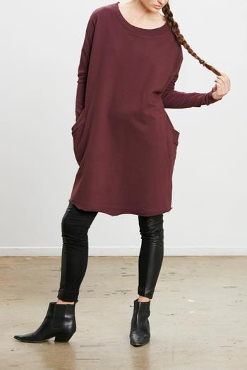Shoptiques Product: Harrison Sweatshirt Tunic - main