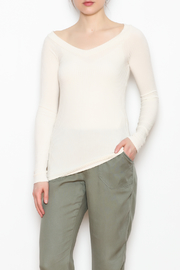 Errant Mabel Ribbed Top - Front full body