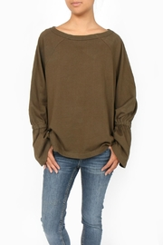 Errant Nolita Tie Sleeve Top - Product Mini Image