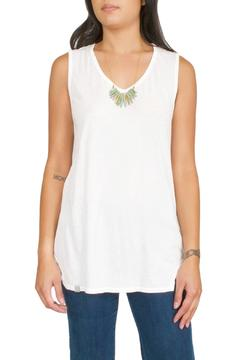 Errant White Muscle Tank - Product List Image