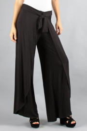 Vava by Joy Hahn Errin Flowy Pants w Slits - Front cropped