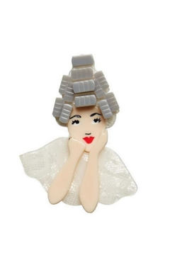 Shoptiques Product: Beauty School Pin