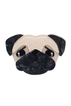 Erstwilder Pierre's Puglife Brooch - Product List Image