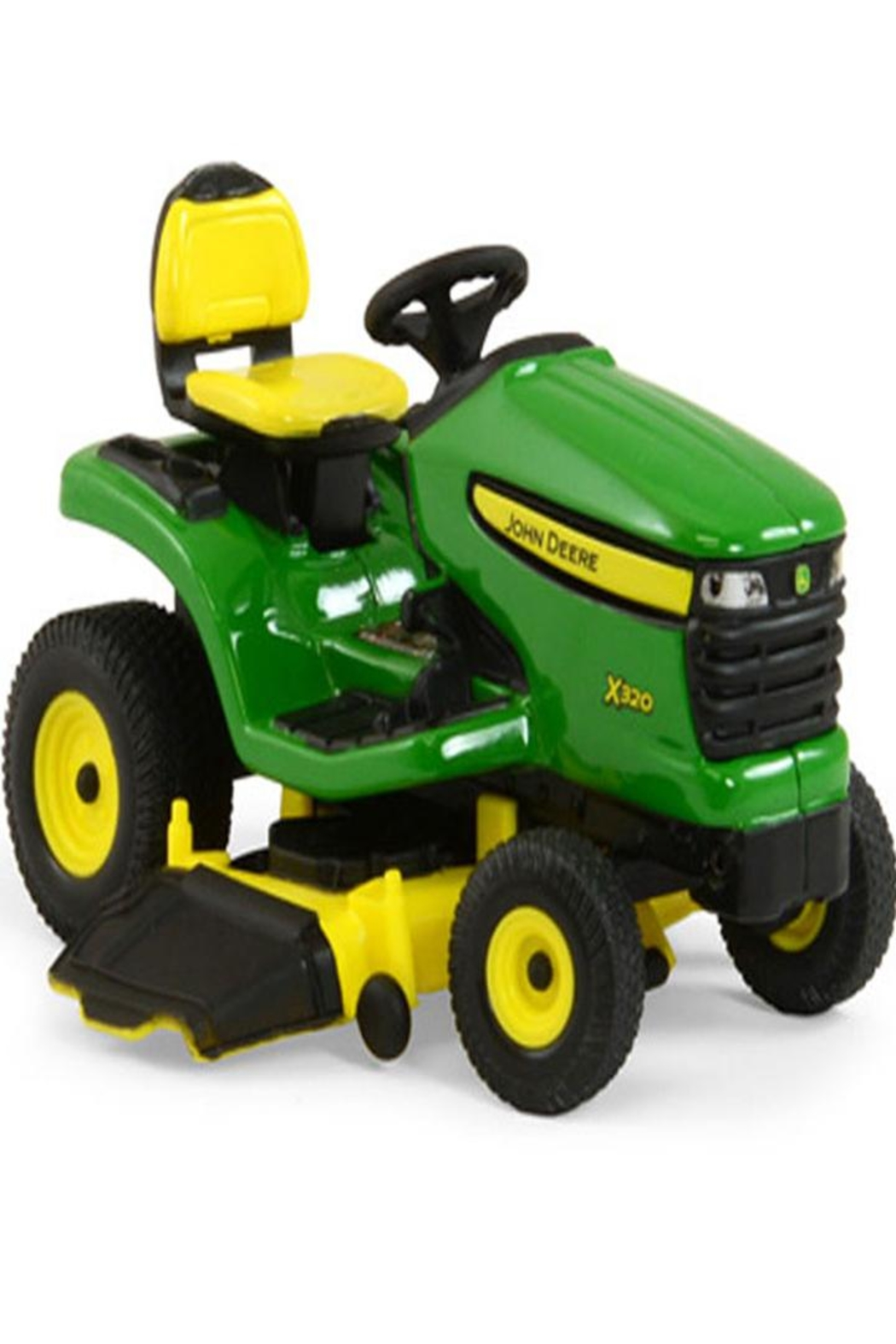 ERTL X320 Lawn Tractor Toy - Front Full Image