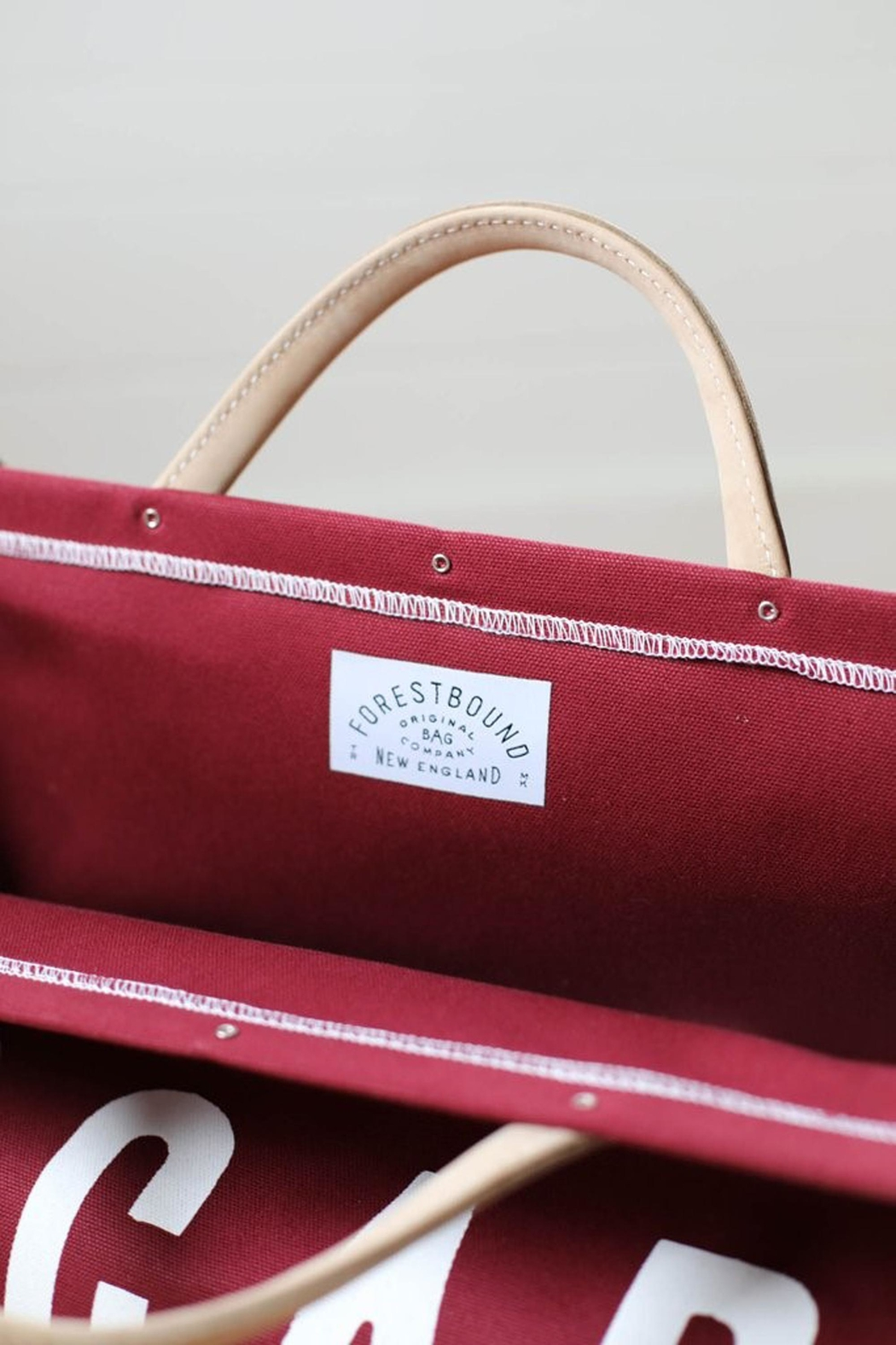 Forestbound Escape Bag Cranberry - Front Full Image