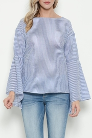 Esley Blue Bell Sleeve Top - Product Mini Image
