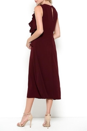 Esley Burgundy Classy Ruffle - Side cropped