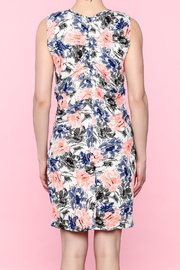 Esley Colorful Spring Dress - Back cropped