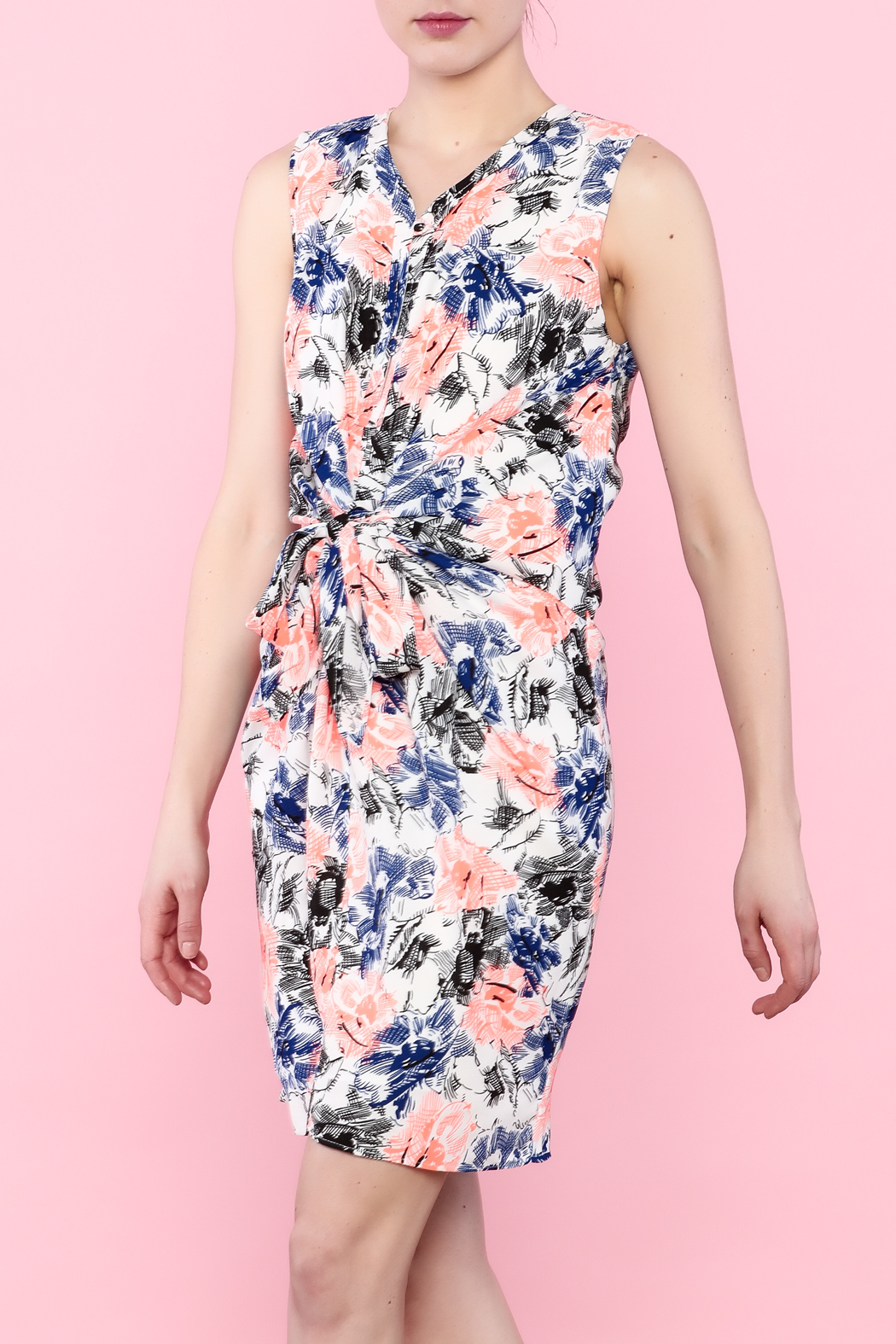 Esley Colorful Spring Dress - Main Image