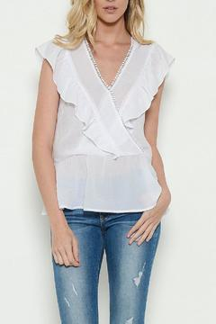 Shoptiques Product: Crossover Ruffle Blouse