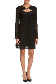 Esley Black Tie Dress - Product Mini Image