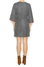 Esley Embroidered Knit Dress - Side cropped
