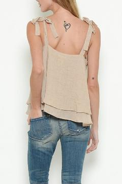 Esley Embroidered Tiered Top - Alternate List Image
