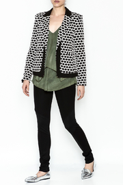 Esley Honeycomb Blazer - Side cropped