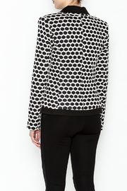Esley Honeycomb Blazer - Back cropped