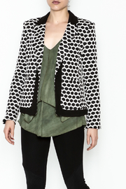 Esley Honeycomb Blazer - Product Mini Image