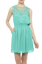 Esley Jade Dress - Product Mini Image
