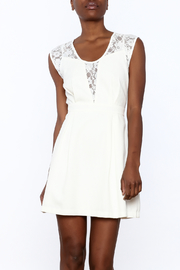 Esley White Lace Dress - Product Mini Image
