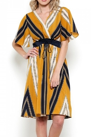 Esley Striped Corset Dress - Product Mini Image