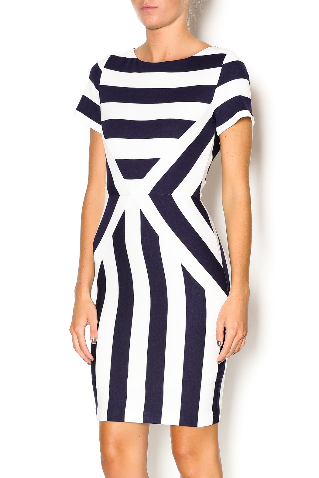 Esley Striped Dress From Cleveland By High Pockets Shoptiques