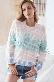 Esley Tie Dye Sweater - Product Mini Image